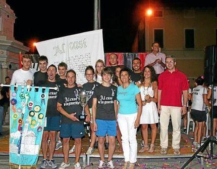 «Al Casì de la Guardia» ha vinto i giochi di Gambara