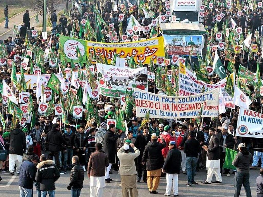 """Brescia grande Festa per il """"Natale"""" del profeta Mohammad [FOTO ..."""