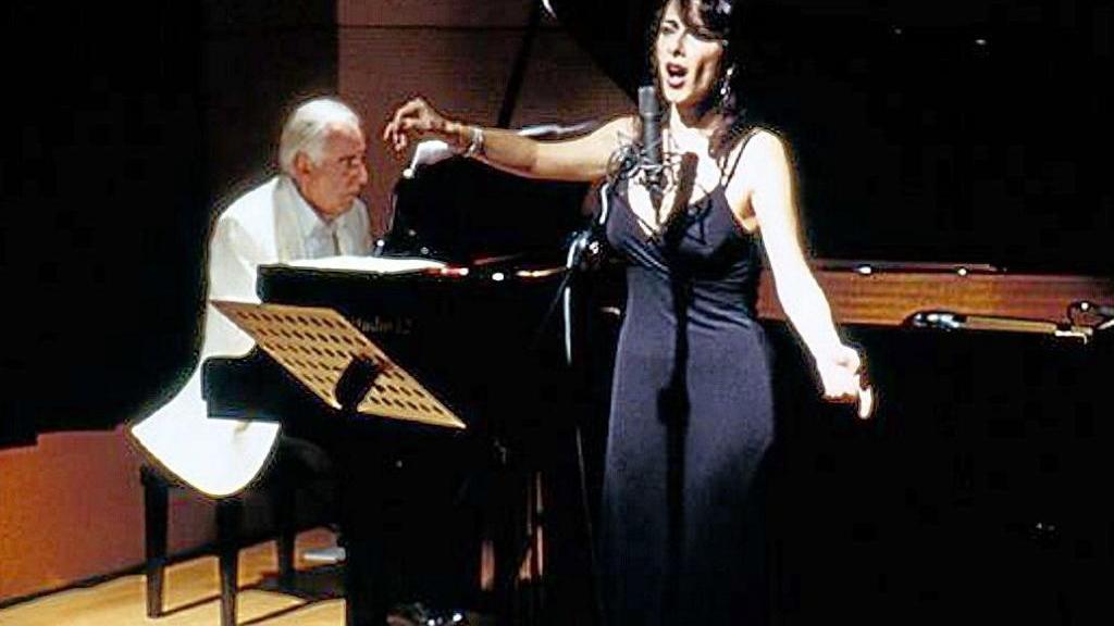 Compositore giorgio gaslini, scomparso a luglio, con la cantante